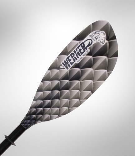 Werner Shuna Hooked 2 pc (Carbon Shaft/FG Blade) Trophy Charcoal