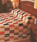 Knitting Pattern Patchwork Blanket