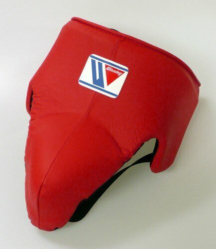 WINNING Boxing Groin Protector CPS-500 Red Standard L Size Made in Japan NEW
