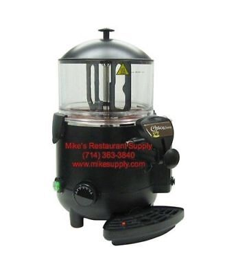 New 40 Cup Hot Chocolate Dispenser Machine Adcraft Hcd-5 6317 Commercial Warmer