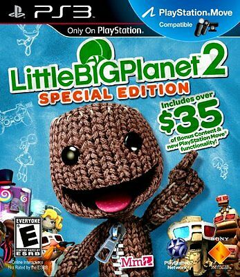 NEW - PS3 Little Big Planet 2 Special Edition