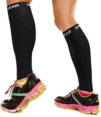 Calf Compression Sleeve for Men Women, Best Footless Socks for Shin
