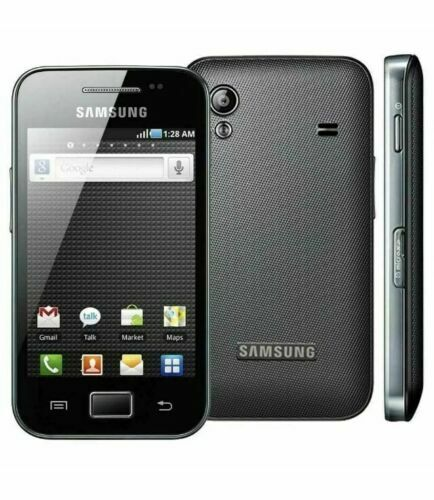 Android Phone - ✅NEW 3G Samsung Galaxy Ace GT-S5830i BLACK Android Basic Cheap Smart Phone UK