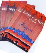 Theatre Programs