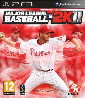 Playstation PS3 PS 3 Spiel Major League Baseball 2K11 2K 11 2011 NEUWARE