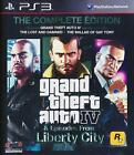 GTA 4 Complete PS3