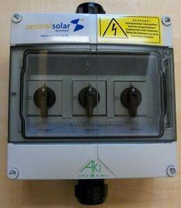 DC-Trennschalter für bis zu 3 MPP-Tracker, Photovoltaik, Solar, NEU