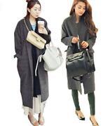 Womens Full Length Trench Coat