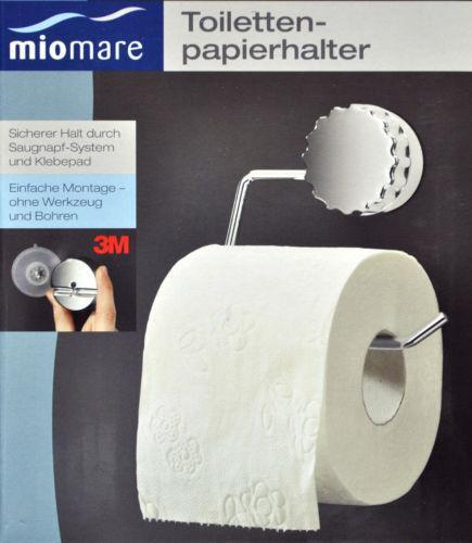 wc papierrollenhalter toilettenpapierhalter ebay. Black Bedroom Furniture Sets. Home Design Ideas