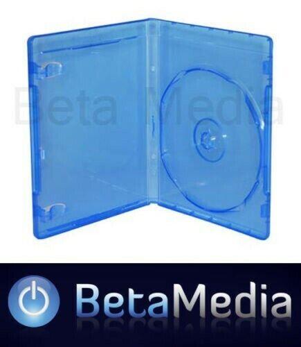 100 Blu Ray Single 14mm Quality Cases - Australian Standard Bluray Case