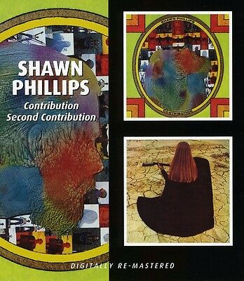 Shawn Phillips   Contribution   Second Contribution  New Cd