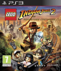 LEGO Indiana Jones 2: The Adventure Continues (PS3) VideoGames