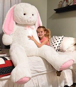 Massive stuffed rabbit