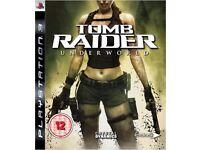 Tomb Raider: Underworld with Bonus Disc for Play Station 3 GBP 10