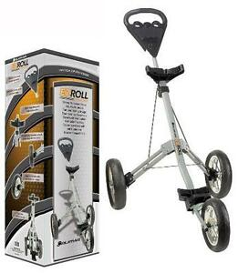 Orlimar EZ Roll EZR 12.0 Golf Push Pull Cart Three Wheel