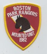 Mounted Police Patches