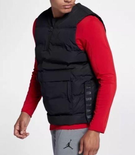 1b38b988 Nike Jordan 23 Tech Men's Training Vest Black 880997-010 SIZE MEDIUM NWT  $150 фото