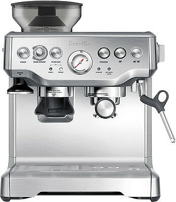 Breville - The Barista Express Espresso Maker - Stainless-Steel