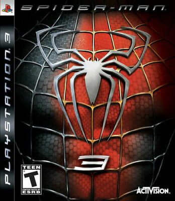 Spider-Man 3 PS3 New Playstation 3