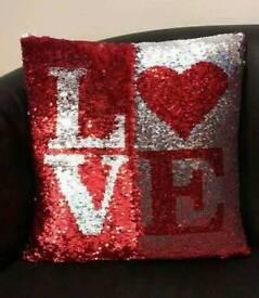 Sequin Cushion