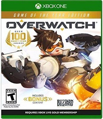 Overwatch Game Of The Year Edition Xbox One Or Xbox One S Console New Ships Fast