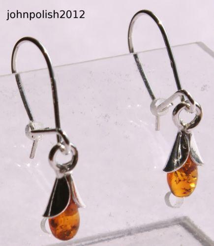 5ec974851 Amber Earrings | eBay