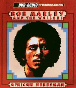 Bob Marley-African Herbsman DVD-Audio disc-Excellent condition