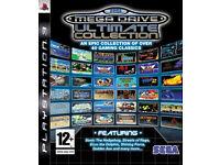 ''Sega MegaDrive Collection'', ''PS3'' *Mint condition*