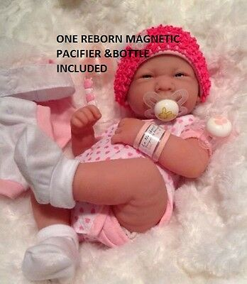 NEW~ Precious Preemie Berenguer La Newborn Doll + Extras INCLUDES BOTTLE PLUS ++