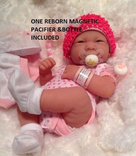 JC Toys La Newborn Nursery 8 Piece Layette Baby Doll Gift Se