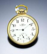 21 Jewel Ball Pocket Watch