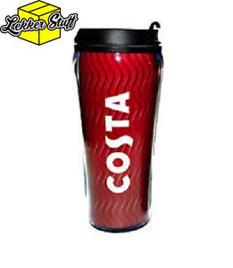 Costa Coffee Travel Mug Tumbler Cup Flask Insulated Thermal Double Wall 450ml