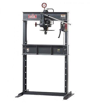 Brand New Dake 75h Hand Operated Hydraulic Press - 75 Ton