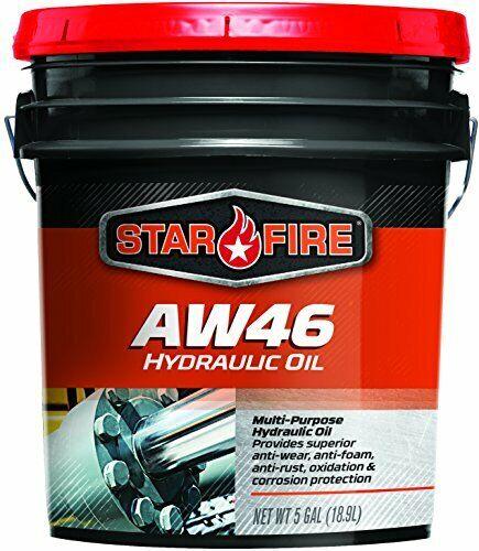 StarFire Premium Lubricants AW46 Hydraulic Oil Fluid 5 Gallon Pail