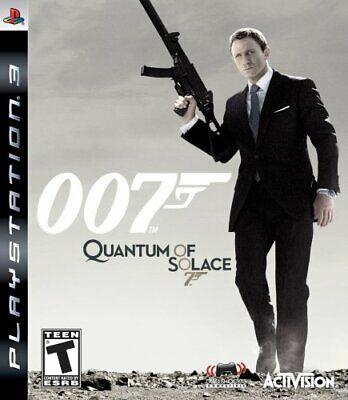 PS3 James Bond 007 Quantum Of Solace Video Game Playstation NTSC T422, usado comprar usado  Enviando para Brazil