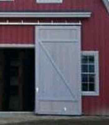 Barn Door Sliding Kit 18 Track For 24.5 Door 9opening Trolleys Brackets Us