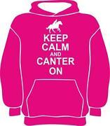 Keep Calm Horse Hoodie