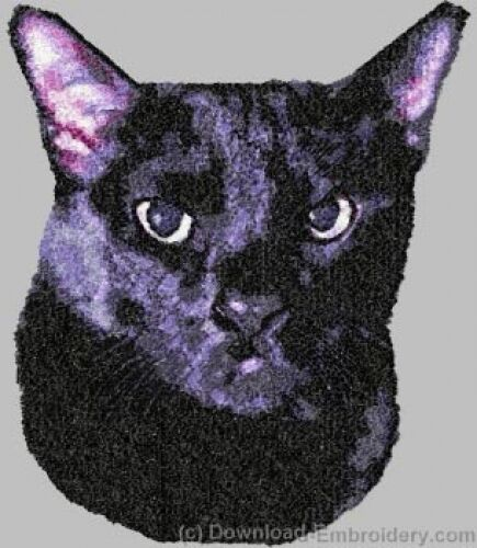 Embroidered Fleece Jacket - Bombay Black Cat DLE2649 Sizes S - XXL