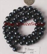Black Freshwater Pearls