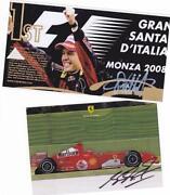 Sebastian Vettel Autogramm