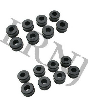 LAND ROVER DEFENDER ALL 83 12 SHOCK ABSORBER MOUNTING RUBBER BUSH KIT X16 552818