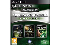 NEW (foiled) - Splinter Cell Trilogy HD PlayStation 3