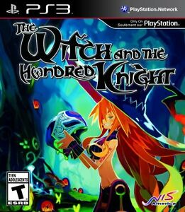 Looking for the witch and the hundred knight for ps3 or ps4