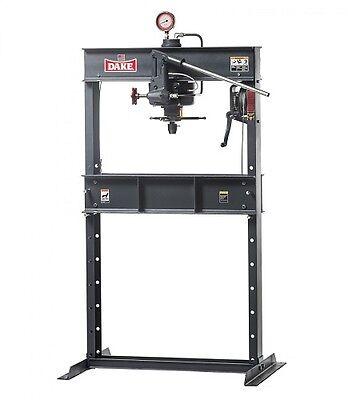 Brand New Dake 25h Hand Operated Hydraulic Press - 25 Ton