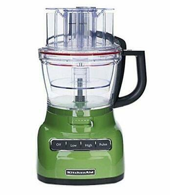 KitchenAid RKFP1333GA 13-Cup Food Processor with ExactSlice System Green Apple