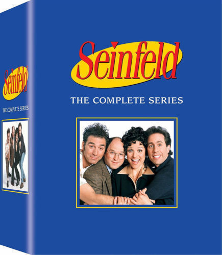 SEINFELD THE COMPLETE SERIES DELUX 33 DISCS,DVD BOX SET FAST SHIPPING