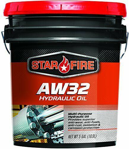 StarFire Premium Lubricants AW32 Hydraulic Oil Fluid 5 Gallon Pail