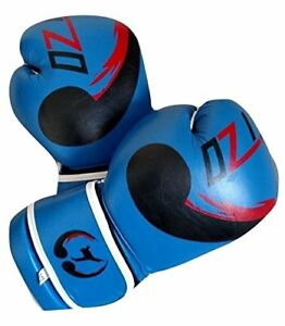 Bestzo Boxing Gloves Cow Hide Leather Muay Thai Training Gloves