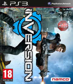 SONY PLAYSTATION PS3 GAME INVERSION LOOK NAMCO UPSIDE DOWN 18 VERSION LUTADORE.*