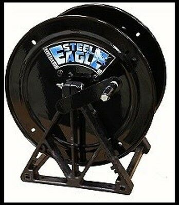 Steel Eagle Pressure Washing Powder Coat Hose Reel 12 Holds 300 New K01-0106